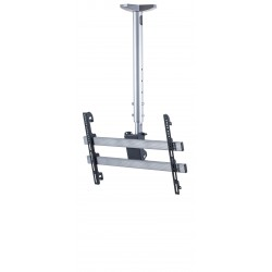 """ARN 42""""-50"""" to360 degree moving,security locked ceiling hanger apparatus"""